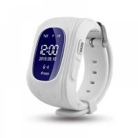 Детские часы Smart baby watch Q50 с GPS (цв. белый)