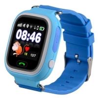 Детские часы Smart baby watch Q90 с GPS (цв. голубой)