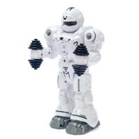 Робот «Атлет», свет, звук, работает от бат.