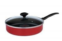 Сковорода гриль-газ D-604 с конвекцией (красн.)
