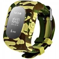 Детские часы Smart baby watch Q50 с GPS (цв. камуфляж)