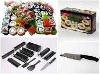 Набор для приготовления роллов Асахи/Мидори+японский нож