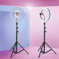 Кольцевая лампа со штативом Ring Fill Light (диаметр 26 см)