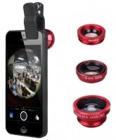 Универсальный объектив Universal Clip Lens 3в1